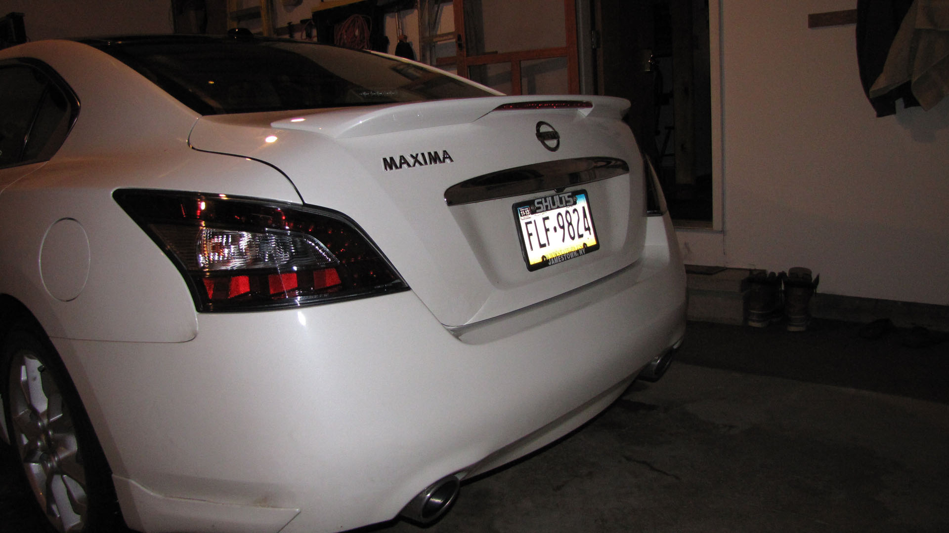 Oem Spoiler Installed On 2012 Maxima Maxima Forums
