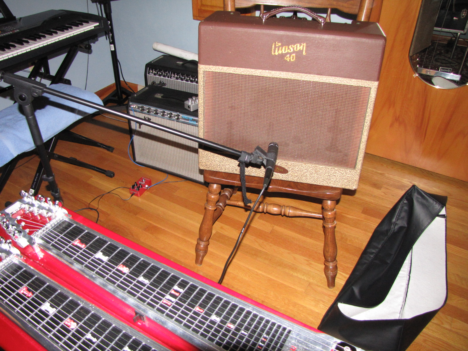 Pedal Steel Played Through A Gibson GA-40 Les Paul Amp