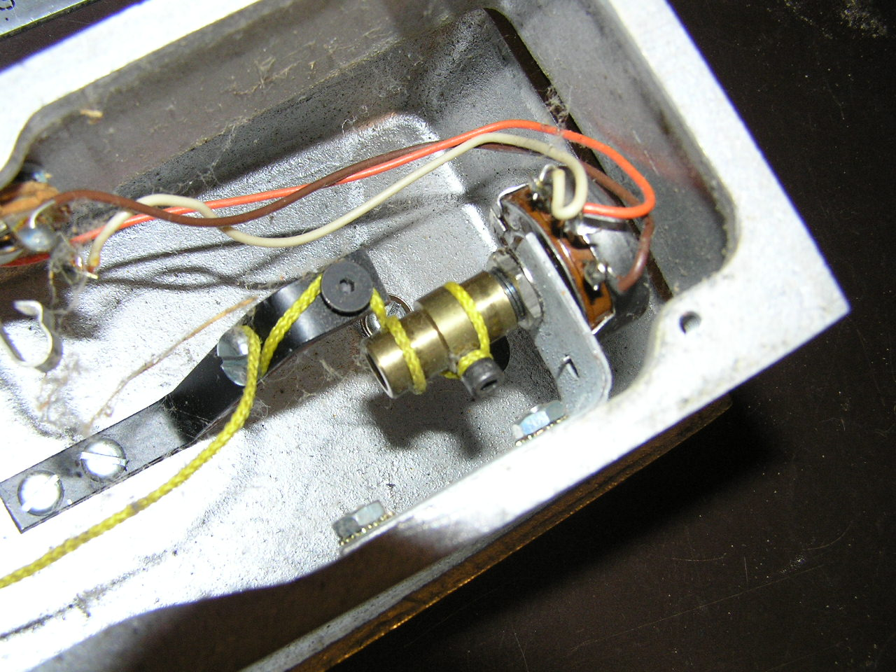 Goodrich 120 Pot Audio Potentiometer Wiring Diagram See Detailed String Routing Pics And Movie
