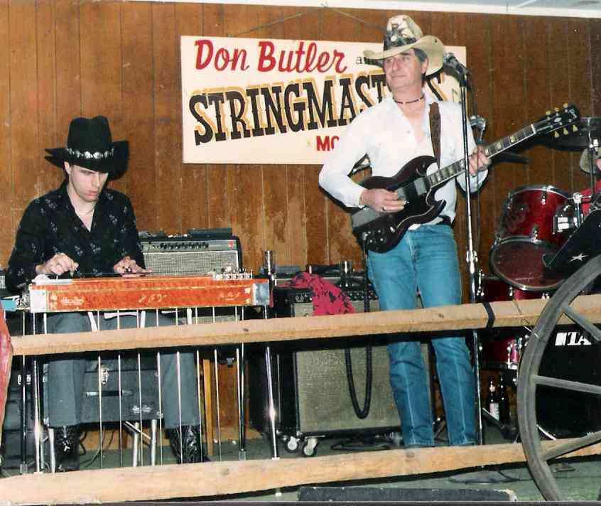 Greg Cutshaw Steel Guitar