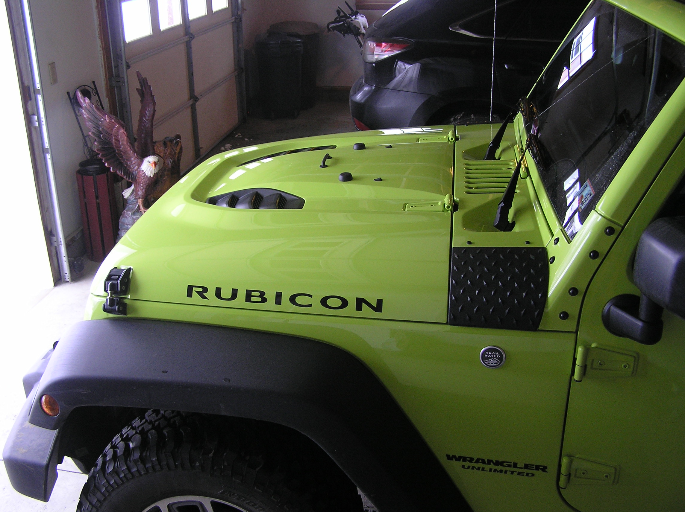 Installed Power Dome Hood Jeep Wrangler Forum Release This Image Has Been Resized Click Bar To View The Full