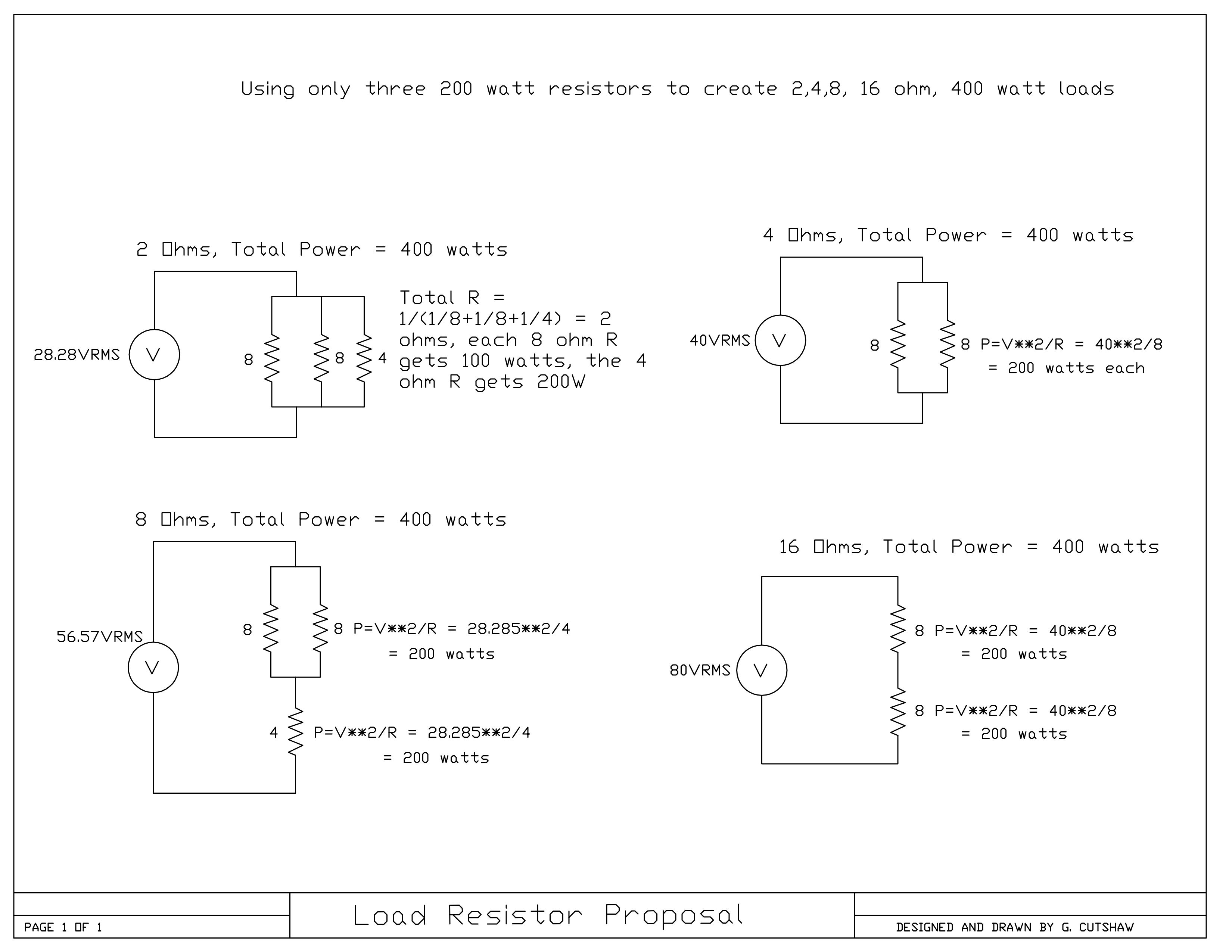 Allen Amplification Encore Amplifier Review Impedance Switch Wiring Diagram For Bench Testing I Used An Audio Signal Generator 200 Mhz Digital Scope Variac Set At 120 Vac With The Amp 8 Ohms And Dummy