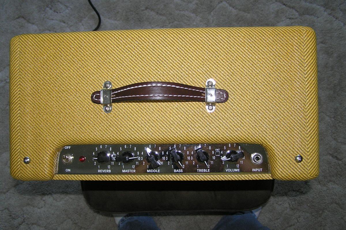 Fender Blues Junior Iii Lacquered Tweed Mg 4830 4831 4833 4835