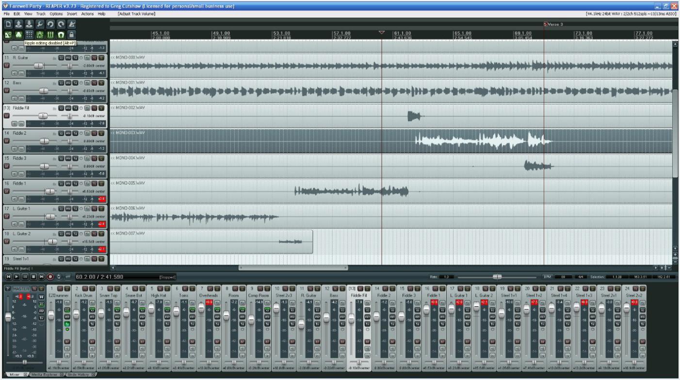 Home Recording Studio Based On Zoom R24